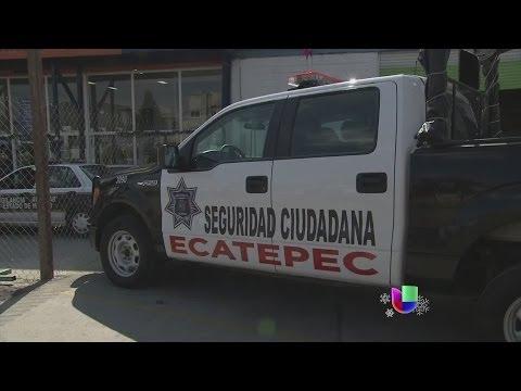 Policías drogándose fueron captados en cámara -- Noticiero Univisión