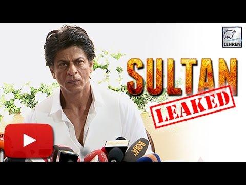 Shahrukh Khan REACTS To Salman's 'Sultan' LEAK   LehrenTV