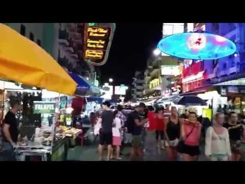Khao San Road Walking Street