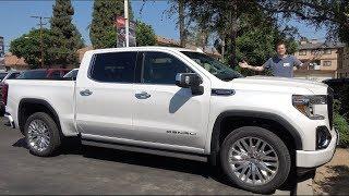 Вот почему GMC Sierra Denali 2019 года это король люксовых грузовиков