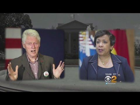 Bill Clinton, AG Lynch Meeting Causes Stir