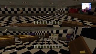 Minecraft, rebuilding fnaf 2 from my windows 10. Part 2