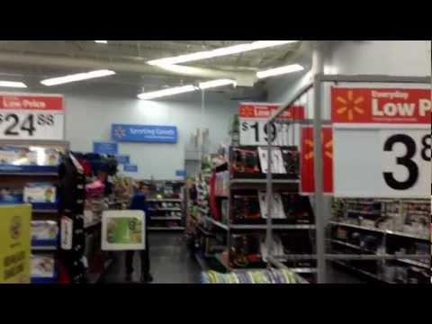 Balling at Walmart