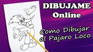 how to draw woody woodpecker | como dibujar al pajaroloco