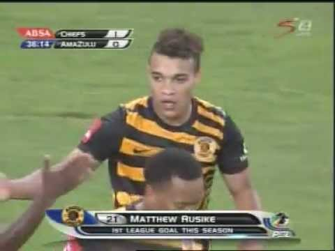 Matt Rusike Goal for Kaizer Chiefs 17 Dec 2012 .mpg