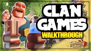 NEW CLAN GAMES AND MAGIC ITEMS | DECEMBER 2017 UPDATE | Clash of Clans