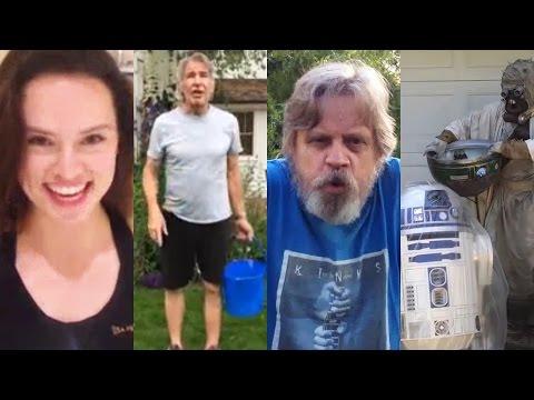 Star Wars Cast Get Wet For ALS Ice Bucket Challenge