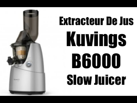 Extracteur De Jus Panasonic Slow Juicer : Extracteur de jus Kuvings Whole Slow Juicer - YouTube