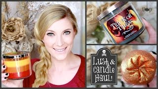 Spooktacular Lush and Candle Haul!! ♥ 2014