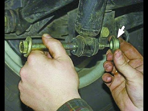 Как заменить передний амортизатор на ваз 21099