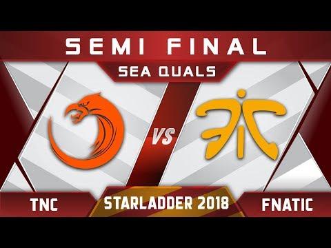 TNC vs Fnatic Semi Final Starladder 2018 SEA Highlights Dota 2