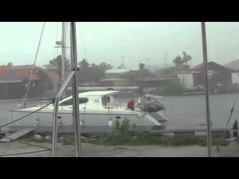 Hurricane Earl in St. Martin