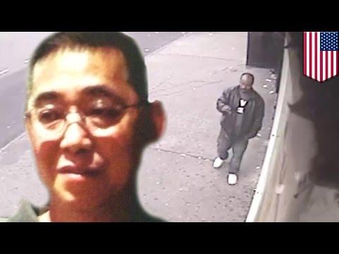 Man pushed onto rail tracks: killer sought after man pushed onto Bronx D train track, New York