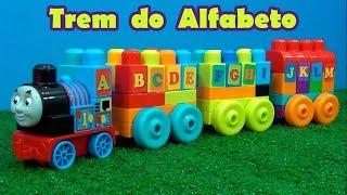 Trem do Alfabeto Lego Gigante   Trem do Thomas o nº 1   #Thomasthetrain