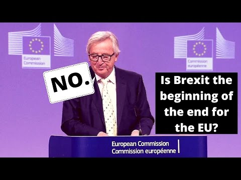 Juncker: Brexit is not the beginning of the end for EU