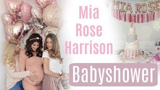 Babyparty für Mia Rose Harrison ♡ Sarah Nowak