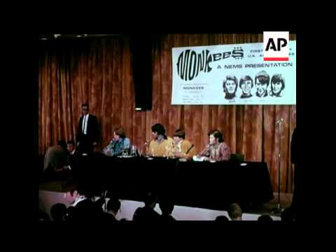 MONKEES ARRIVAL & PRESS CONFERENCE