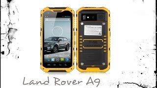 Мега защищенный смартфон Land Rover A9 в нашем видеообзоре