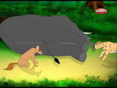 Marathi Moral Stories | Marathi Stories For Kids | 06 Clever Jackal video
