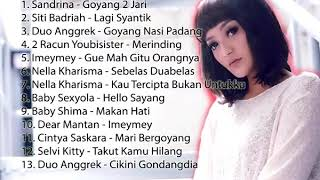 Lagu Dangdut Remix House Paling Enak ll Lagi Syantik ll Goyang 2 Jari