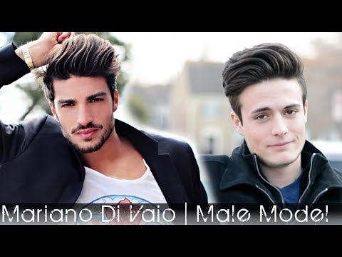 Male Model hair 2014 | Mariano Di Vaio mens hair