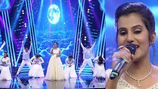 Paadam Namukku Paadam | 'Nenjukkule' a beautiful song by Rashmi | Mazhavil Manorama