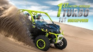The 121-HP Can-Am Maverick X ds Turbo