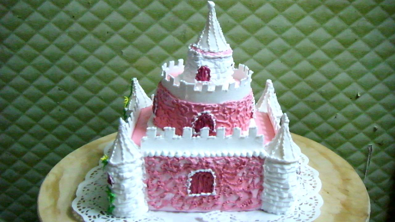 Рецепт торт замок