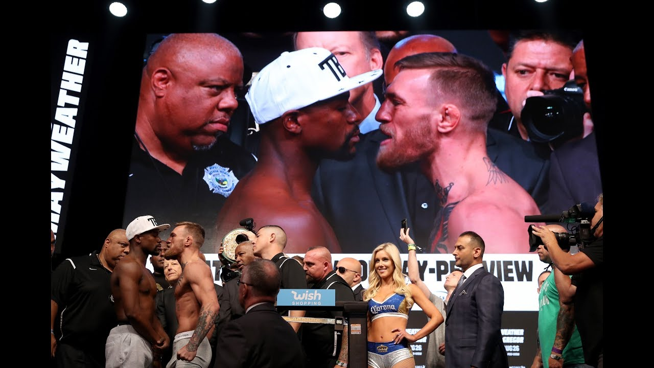 Floyd Mayweather, Conor McGregor ready to rumble in much-hyped fight