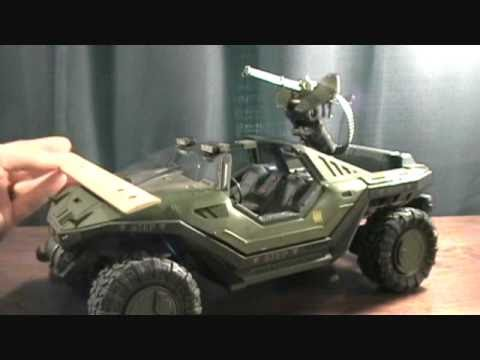 Halo Reach UNSC Warthog with Anti Aircraft Gun Vehicle review