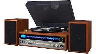 "Crosley 1975T ""1970s style"" stereo system review & test"