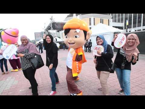 Super-power dance moves by BoBoiBoy at MAPS