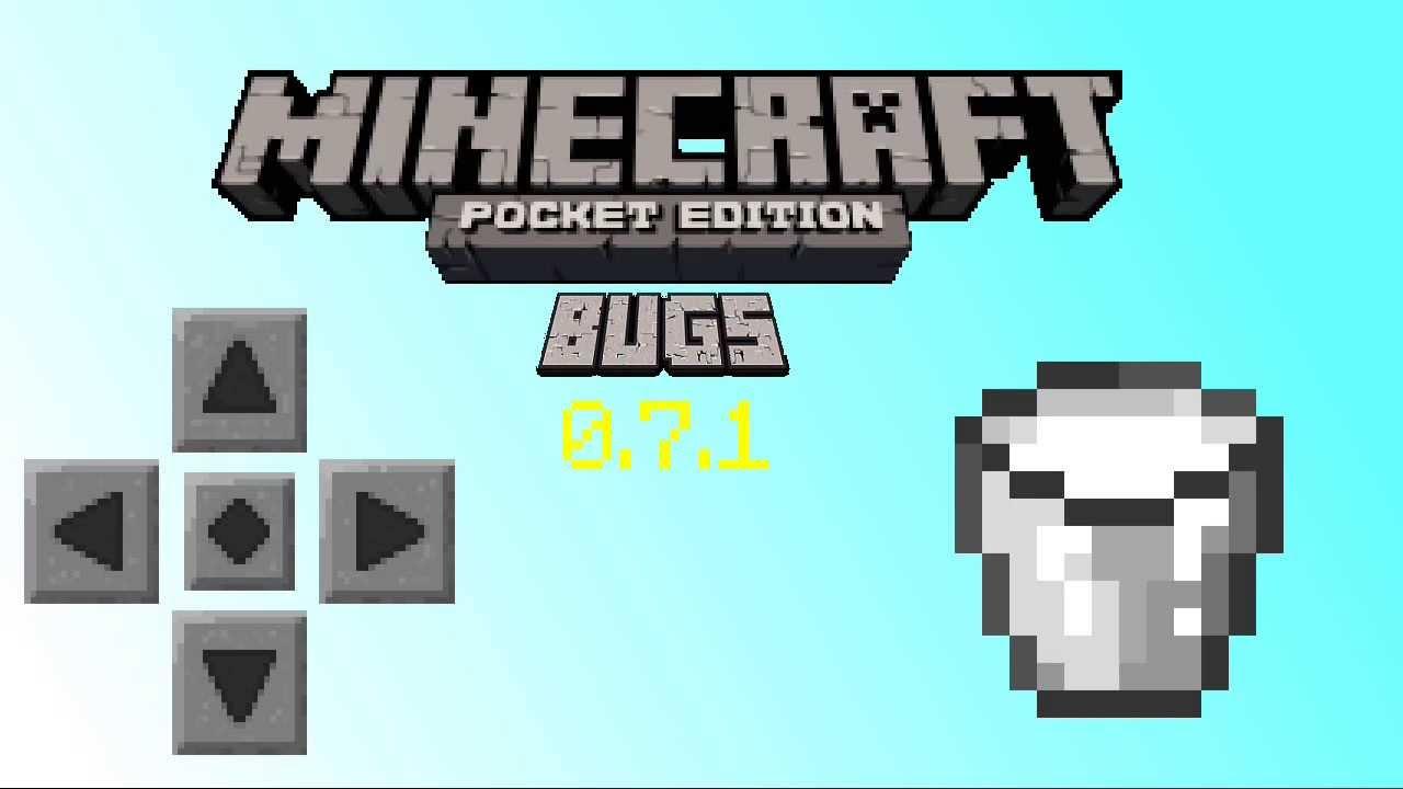Minecraft pe 0.7.1 Bugs Giant