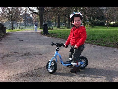 Lenny On His Puky Balance Bike