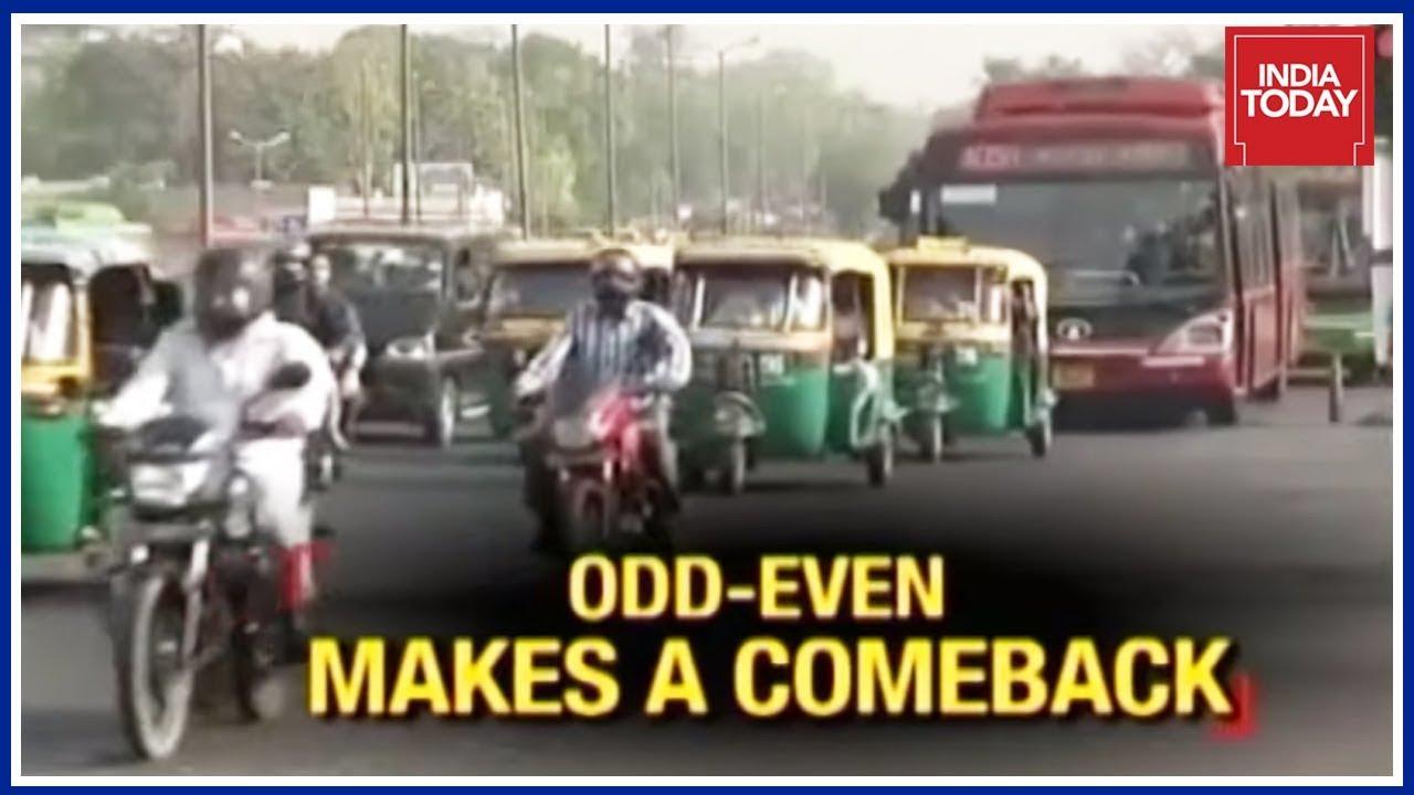 Delhi Chokes : Odd-Even Scheme Set To Return To Delhi
