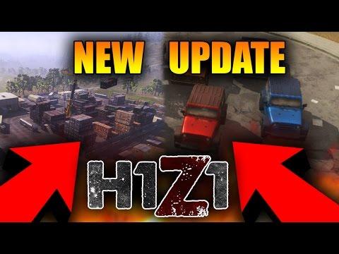 HUGE NEW H1Z1 UPDATE! NEW CAR SKINS in H1Z1! New Map Update, Shotgun and Sniper Skirmish (Hit Reg)