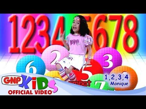 1,2,3,4 (Satu Dua Tiga Empat) - Monique