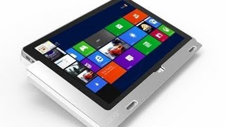 Acer Iconia W700 Windows 8 Tablet Unboxing