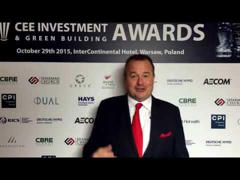 Craig Smith EuropaProperty.com Introduction to CEE Investments & Green Building Awards Jury Dinner.