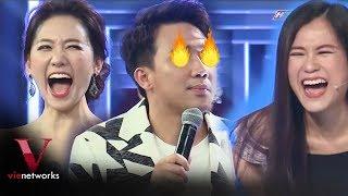 Lâm Vỹ Dạ đốt nhà Trấn Thành khi nhắc về tình cũ của Hari Won - Giọng Ca Bí Ẩn [Full HD]