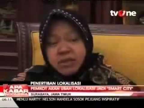 Wali Kota Surabaya UBAH Dolly  Menjadi Smart City  MANTAB