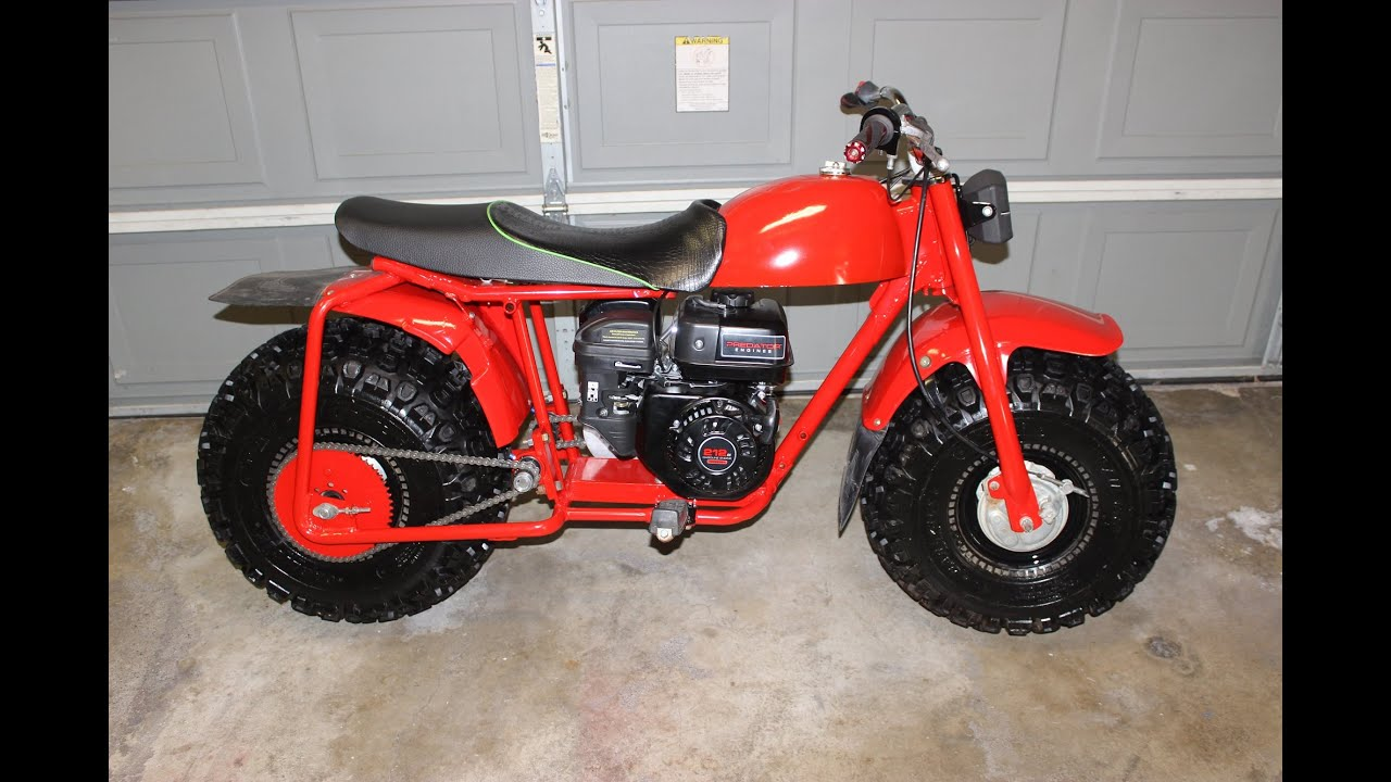 Dirt Bikes With Fat Tires Homemade fat tires mini bike