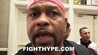 ROY JONES JR. REVEALS WHY ADRIEN BRONER DOESN'T LET HANDS GO; GIVES SERIOUS CAREER ADVICE