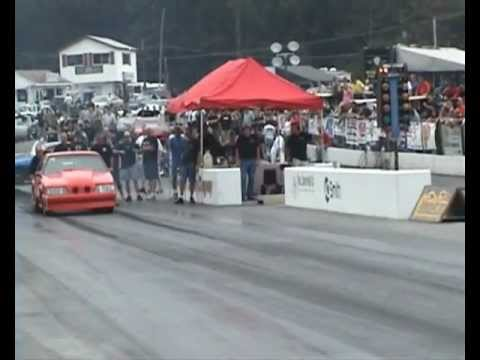 outlaw drag radial elims #1 YELLOWBULLET  NATS 2012.wmv