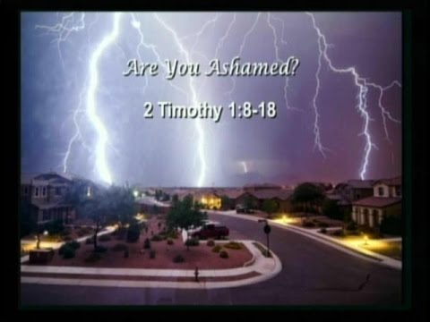 Are You Ashamed? - Faith in Life's Monsoons Sermon Series 2