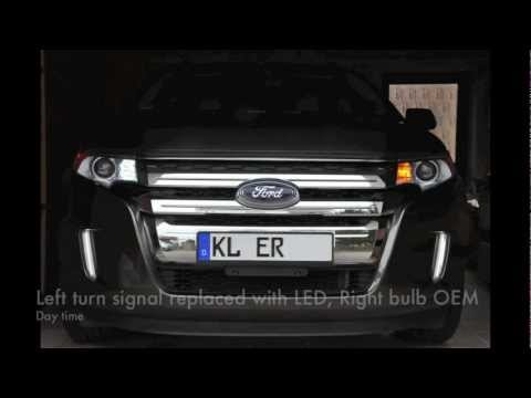 2011 Ford Edge LED Switchback Turn Signal Install