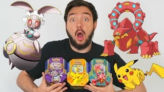 Ouverture des 3 POKEBOX VOLCANION EX ! PIKACHU EX ! MAGEARNA EX ! EPIC POKEMON LEGENDAIRE !!