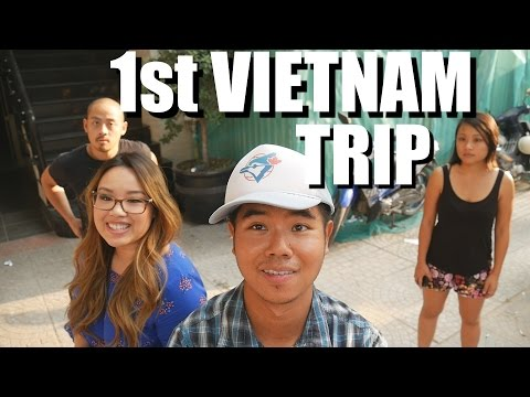 Vietnamese American Girl Visits Vietnam for the First Time.