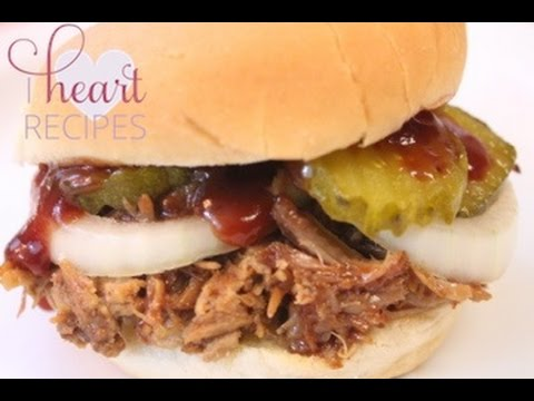 How to make BBQ Pulled Pork on the Grill OR Oven- I Heart Recipes