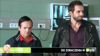 Komisarz Chudziszewski udziela wywiadu Telewizji Polsat   - Ludzie Chudego 3 MB